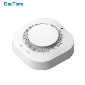 Sistema de alarma del detector de humo GauTone 433MHz fuego sensor Inicio Seguridad Bomberos fuego equipos Smokehouse