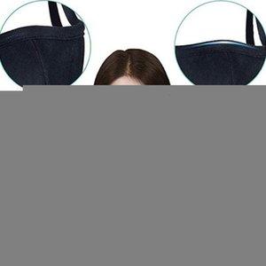 5 respiro Algodón Color anti Diseñador polvo Haze Negro de gran tamaño Hombre Cara Boca Rosa Mujeres Moda Máscara Dhe130 1wmu #