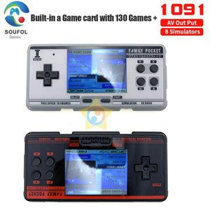 Handheld Built-in 1091 Portable Console Support 8 Formats Game AV Out Put Dropshipping