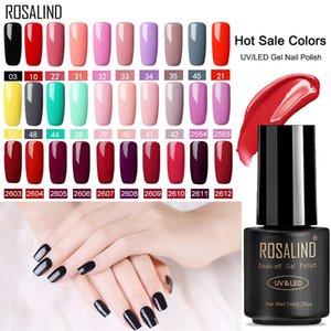 ROSALIND Gel Polish Nail Art Set For Manicure Hybrid Nails Color Poly Vernis Semi Permanent UV Gel Nail Polish Varnish