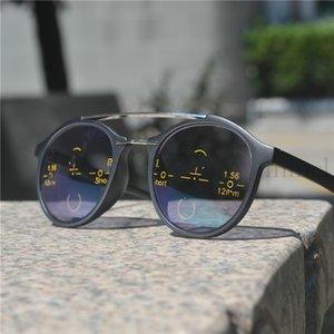 2020 Geçiş Güneş Gözlüğü Fotokromik Okuma Gözlükleri Progressive Multifocal Okuma Gözlükleri Erkek Kadın Presbiyopi Hipermetrop NX