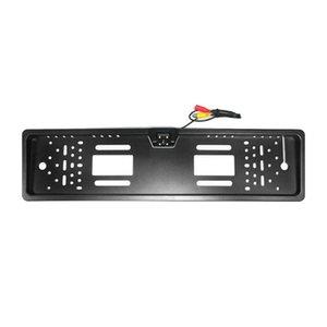 Hd Led License Plate Frame Invertendo Câmara de visão traseira CCD Invertendo Imagem Sistema Super-Fácil instalação