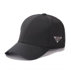 8QhrU Ters üçgen etiket üçgen dekoratif Douyin Sivri beyzbol şapkası internet aynı stil beyzbol şapkası moda markası kırmızı doruğa