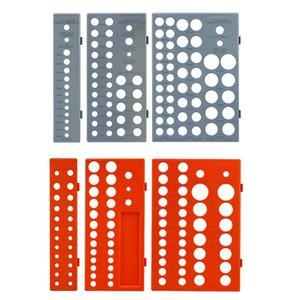 3pcs / set multifonction manches Socket Organizer Plateau Support de rangement Support métrique J0PD