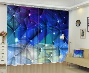 Babson rideau d'impression numérique 3D rideau DIY photo avancé sur mesure