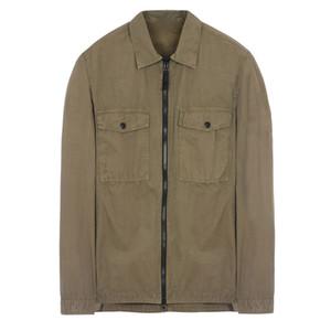 18FW 107WN overshirt VECCHIO Garment Dye Shirt TOPST0NEY Jacket Uomo Donna Facshion cotone Top Coat HFLSJK324