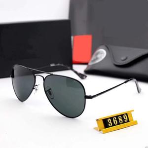 2020 clássico Police Pilot Sunglasses Quadro polarizada Aviação Sun Glasses por Homens Driving UV400 Proteção Oculos Gafas Ch01