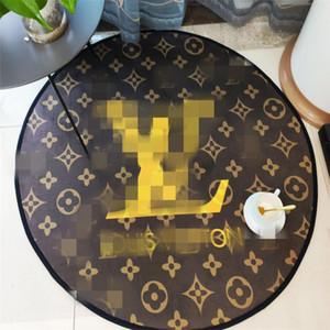 큰 할인 홈 침대 룸 라운드 카펫 문자 패턴 없음 - 슬립 매트 높은 품질 핫 판매 유라 메리 카 발 매트 무료 배송