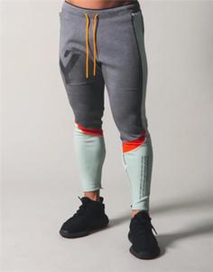 JapanUK 2020 pantaloni da jogging Uomini Sport Patchwork per gli uomini di addestramento di ginnastica corrente del cotone del Hombre Palestra Pantaloni Mens Sportswear