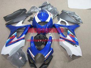 New injection fairings kit+7 Free gifts for SUZUKI K7 GSXR1000 GSXR 1000 07-08 SUZUKI GSXR1000 2007-2008 K7 bodywork #BLUE #S7QO8