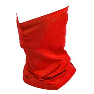 Nouveau 1izx2 2020 Solide Couleur d'impression extérieure anti-insectes masque multi-usages Cornice sans chapeau Cornice Cap magique écharpe
