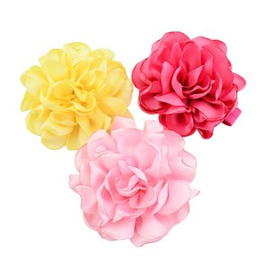 Baby Girls Multi Layer Headbands Style Hair Band Children Girls Fashion Artificial Flower Head Bands Elastic Accessory Head Wrap
