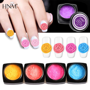 HNM 3D Carved Patterns Gel Nail Plasticine Gel Carved Painting Soak Off Modeling Sculpture Lacquer Semi-permanent Glue