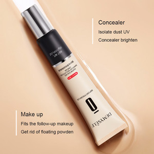 Foundation makeup primer stain pore cover cream waterproof whitening moisturizing liquid foundation makeup concealer tube