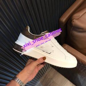 Louis Vuitton 2020Newest de lujo de diseño inferiores del rojo Hombres Mujeres Zapatos de moda ante el Con Los Puntos maoding informal diseñador del vestido de las xshfbcl