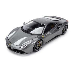 2020 Новый Bburago 1:18 488 GTB Рафинированный версия спортивного автомобиля Статическое моделирование Diecast сплава Модель автомобиля
