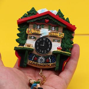 fridge magnets German magnetic refrigerator goo Cuckoo Clock model 3d tourist souvenir home decoration collection creative gifts C0927