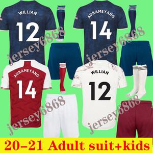 Erwachsene Anzug Jersey 20 21 Pepe Nicolas Fussball Jersey Ceballos Henry Willian Football Hemd 2020 2021 Camiseta de Futbol Kinder + Socken
