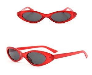 Fashion Sunglasses Eye Cat Small 7 Small Glasses Goggle Colors Frame Sunglasses Sun Glasses Uv400 Women whole2019 HuEOv