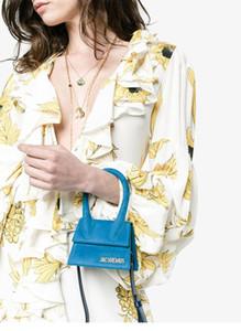 Manija grande diseñador simple del bolso de hombro cuadrado de helado suave bolsos crossbody hombro Mujer correa extraíble Pequeño totalizadores J307