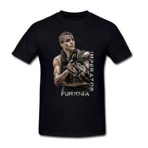 Charlize Theron Mad Max Stills Imperator Furiosa cool T-shirt da uomo