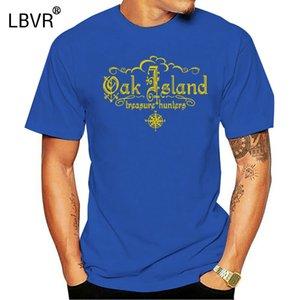 الصيادون OAK جزيرة الكنز - للجنسين القطن تي شيرت المحملة القميص
