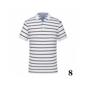 20 coton -16summer solide couleur nouveau style polo marque de l'usine de masculin de luxe 2 qualité supérieure polo hommes à vendre