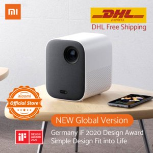 "Global Version Xiaomi Projector Mini 120"" Full HD 1080P DLP 500ANS Dolby Audio Android 9 Mi TV Content DHL Free Shipment"