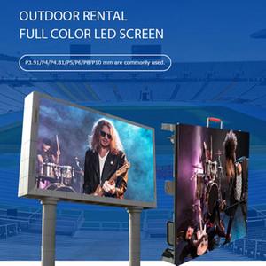 monitor LED Outdoor p4 p5 P6 P8 tela do módulo p10 LED Wall vídeo digital módulos Impermeável SMD 3535
