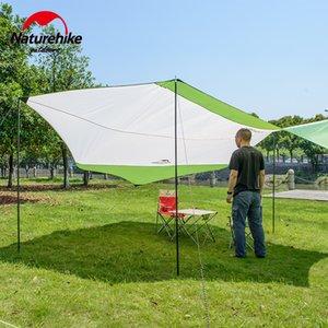 Naturehike Açık Awnig Plaj Büyük Kamp Çadırlar Güneş Su geçirmez Ultralight Hızlı 400 * 350cm kurmak Shelter