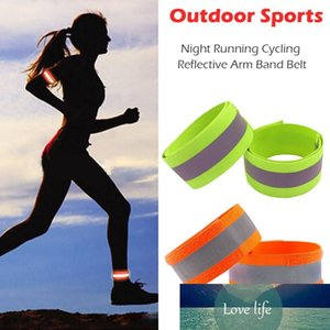 Night Reflective Safety Belt Night Run Armband for Outdoor Sports Night Running Cycling Jogging Arm Strap Luminous Arm Band #30