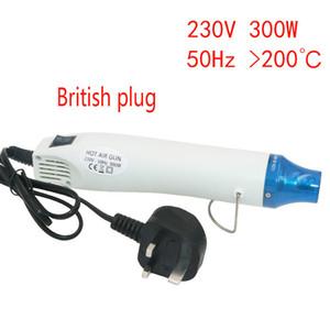 Soft Clay Hot Air Gun With UK Plug M-Triangel 230V Heat Gun Electric Power Tool 300W DIY Electric Power Tool Seat Shrink