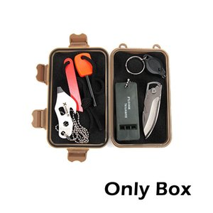 1pcs Gifts Novelty Outdoor Airtight Shockproof Boxes Survival Storage Case Holder For Matches Sealed Container Party Favors