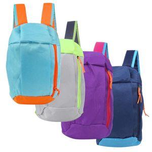 Sport Rucksack Kleine Sporttasche 10L Außen Gepäck für Fitness Travel Duffel Taschen für Kinder Kinder Männer Laptop-Rucksack