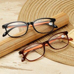 Toughness TR90 Ultralight Reading Glasses Men Women Anti-slip Prescription Eyeglasses High definition Diopter Resin Lens Eyewear