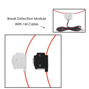 Computer & Office Filament Break Detection Module With 1M Cable Run-out Sensor Material Runout Detector For Ender 3 CR10 3D Printer