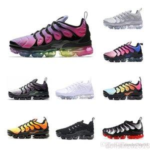 Nike Air Max Flyknit De plus TN Chaussures de course Hommes Femmes Volt Raisin recalibrée Air Triple Blanc Noir Violet Hyper BETRUE Designer sport de luxe 36-45 DLSZ