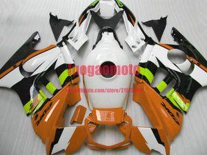 Fairings For Honda orange black white CBR600 F3 1997 1998 cbr600 f3 Parts CBR600F3 97 98 CBR 600 F3 cowling Aftermarket Fairing Kit+gifts
