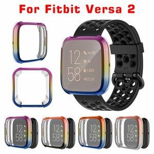 TPU Per Fitbit Versa 2 Custodia protettiva per il caso di elettrolitico Guarda protettiva per Fitbit Versa 2 Guarda Accessori intelligente