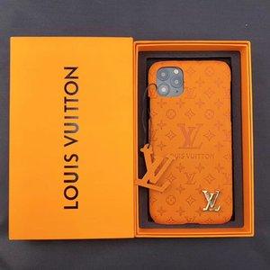 L Letter Designer Phone Cases pour iPhone 11 11Pro Max Xs Xr 7 8 Plus Housse en cuir de luxe Téléphone cas la meilleure qualité