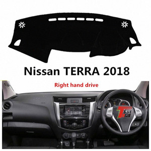 Taijs droit Hand Drive Car Dashboard Cover Pour Terra 2018 Dacron Fashion Creative Dashboard Auto Pad 18 Terra Geds #