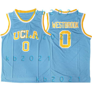 NCAA Russell Westbrook 0 Jersey UCLA Bruins College 13 Harden LeBron James 23 Vince 15 charretier Gary Payton 20 Basketball Maillots
