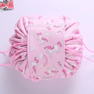 Lazy cosmetic bag female large-capacity portable small cosmetic storage bag ins style super influencer bag diameter 52cm