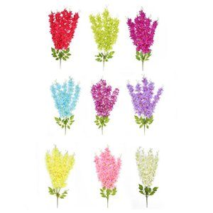 Artificial Fake Lilac Flowers Art Craft Plastic Wedding Household Party Hanging Bunch Photographic Prop Decorative Accessories
