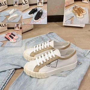 Prada shoes Schuhe lusso Espadrilles Teller-forme Progettista Frauenschuhe luxe Sandale Plattform Jahrgang sandale Größe 35-40 Schuhe Tuch