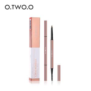 O.TWO.O Ultra Fine Triangle Eyebrow Pencil preciso Brow Definer Long Lasting impermeabile Bionda Brown sopracciglio trucco 6 colori 1007