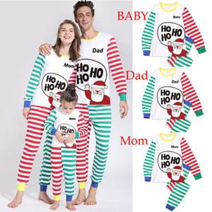 Coordinati hristmas Famiglia Pigiama per adulti Kid bambino Famiglia Matchint Outfits Pigiama Deer pagliaccetto sguardo della famiglia tute coordinati