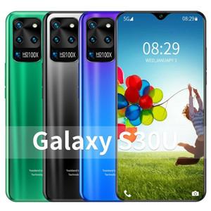 2020 새로운 패션 대용량 S30U 듀얼 SIM 카드 지원 T 카드 페이스 액세스 8기가바이트 RAM + 5백12기가바이트 ROM 메모리 4G / 5G 7.5 인치 U 디스플레이 모바일