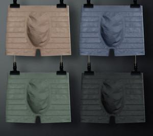 wholesale low price high quality 8pcs lots cotton breathable comfortal tom men's boxer underwear 13.2b
