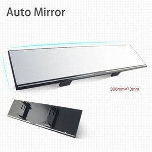 Rear View Mirror Interni Clip On retrovisori panoramica Grande Campo grandangolare Anti riflettore specchio retrovisore Aereo ZluR #